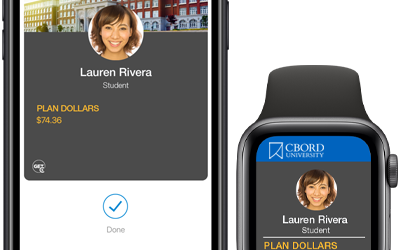 CBORD Announces Mobile Credential Support for Student ID Cards in Apple Wallet