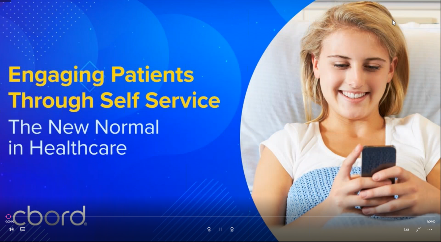Engaging Patients Through Self-Service