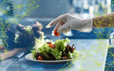 Preparing a recipe to illustrate benefits of menu management and recipe control